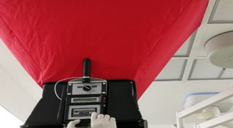 Duct smoke and air leakage test