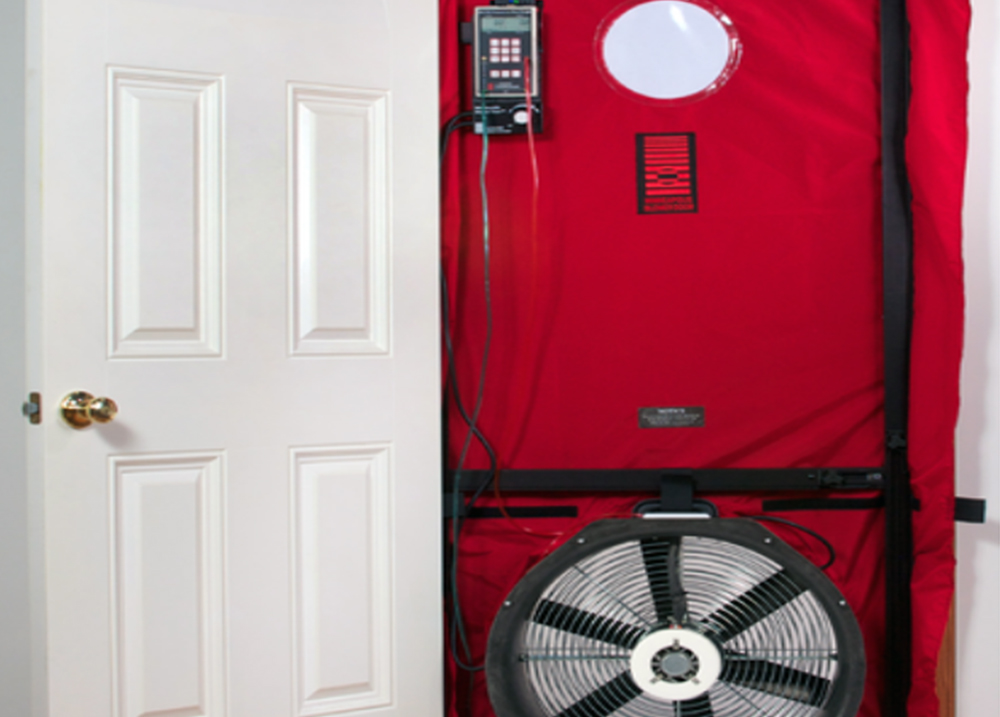 Air leakage / Blower Door Test